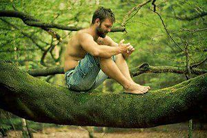 How can therapy help?. Man on treebranch